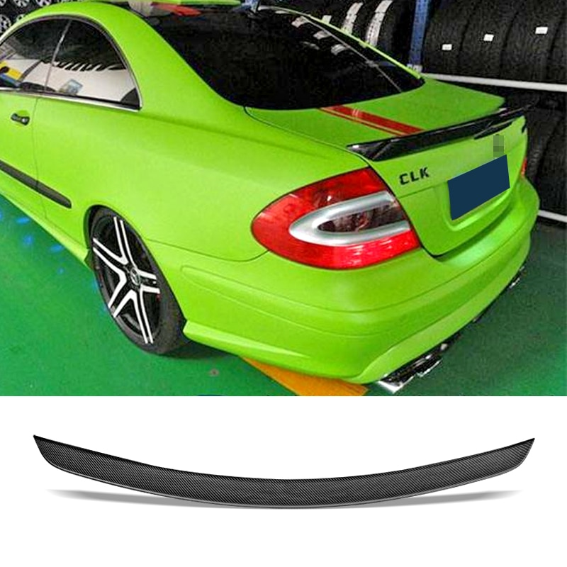 for bmw e90 spoiler trunk wing tail m4 style frp black 3 series 318i 320i 328i 335d 330i 350i 340i tail trunk spoiler wing 05 11 Car Trunk Spoiler Carbon Fiber/FRP Auto Rear Trunk Wing Accessories Spoiler For Benz W209 CLK200 280 350 55 63