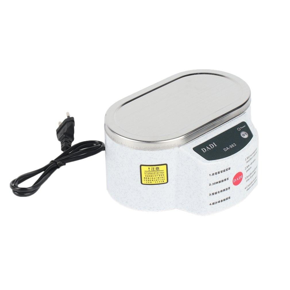 30 Вт 50 Вт Мини Ультразвуковой очиститель ванночка для очистки ожерелья очков доска 963