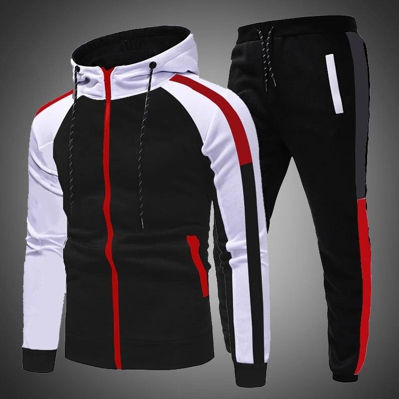 Мужская повседневная спортивная одежда, брюки, костюм для бега на осень и зиму, мужские спортивные костюмы, спортивная одежда для бега, 2021