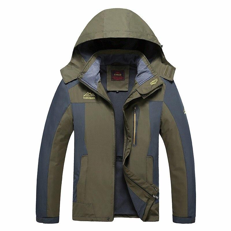 Chaquetas impermeables para hombre de talla grande 6XL 7XL 8XL chaqueta Bomber cortavientos impermeable para hombre Abrigo con capucha a prueba de viento prendas de vestir militares