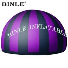 Tente gonflable légère multicolore de dôme de planétarium de tente de dôme de projection de 360 degrés à vendre