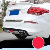 Lsrtw2017 Abs Car Tail Lip Rear Bumper Spoiler Strip for Chevrolet Cavalier 2017 2018 2019 2020