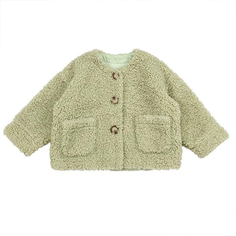 Children's Faux Fur Coat Baby Teddy Bear Thicken Warm Outerwear Fashion Overcoat Kids Clothes 2020 Autumn Winter Jackets W941 enlarge