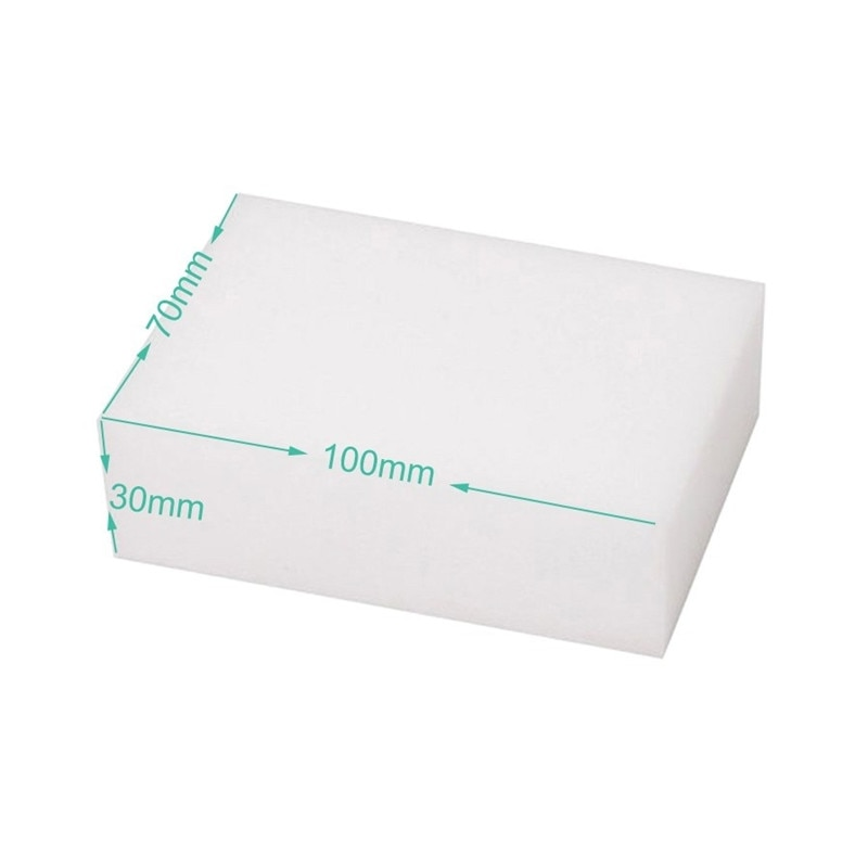 50pcs/lot 10*7*3cm plus thickness cleaning sanitary sponge house daily use multi-size stocked magic