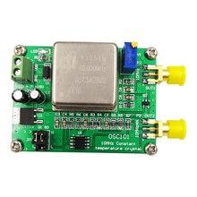 OCXO 10MHz 20M 30M 80M Frequenz Referenz Kristall Oszillator Uhr Kalibrator Vermehrung Temperatur signal modul