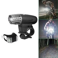 Lampe de poche de sécurité de vélo de vélo imperméable à leau de lumière frontale Rechargeable dusb avec le phare avant Rechargeable par USB de puissance élevée