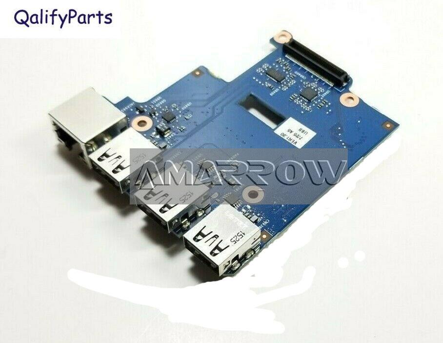 لوحة USB للكمبيوتر المحمول الأصلي ل HP ProBook 650 G1 قارئ البطاقات SD LAN إيثرنت المجلس 6050A2566801