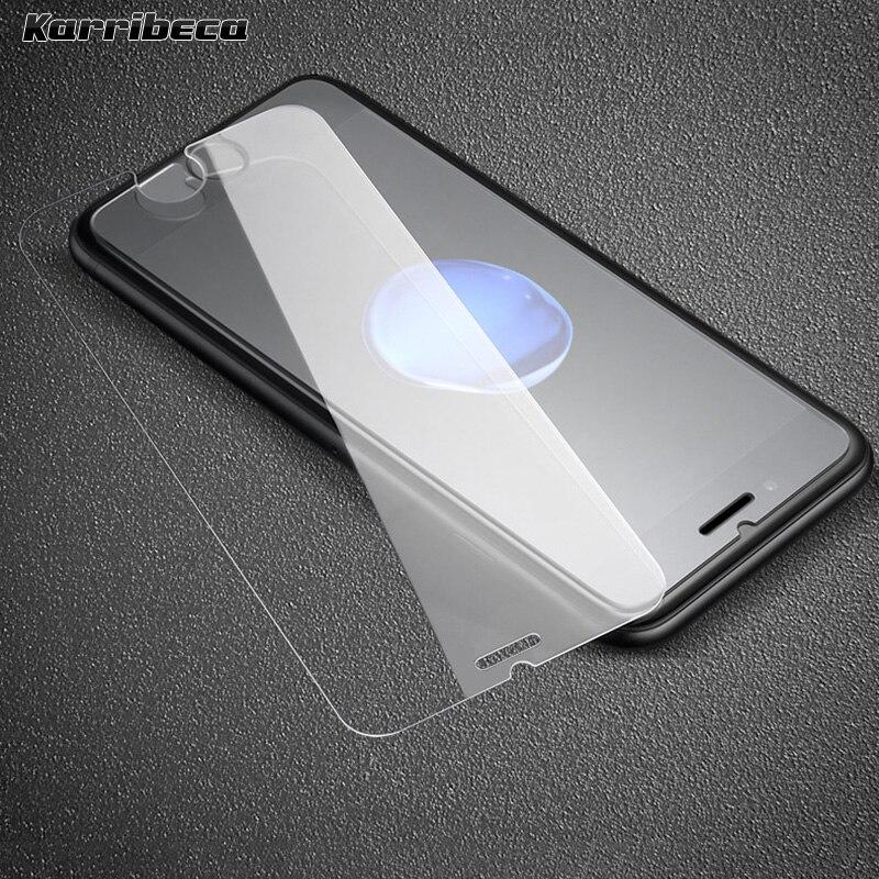 Protector de pantalla de vidrio templado de 10 piezas para iphone 12...