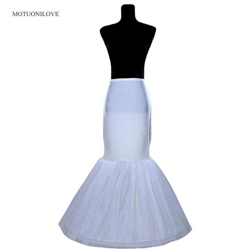 Wholesale Price 1 Hoop Bone Elastic Waist Petticoat For Bridal Mermaid Wedding Dress Crinoline Slip Underskirt in Stock Fast stock price puzzle