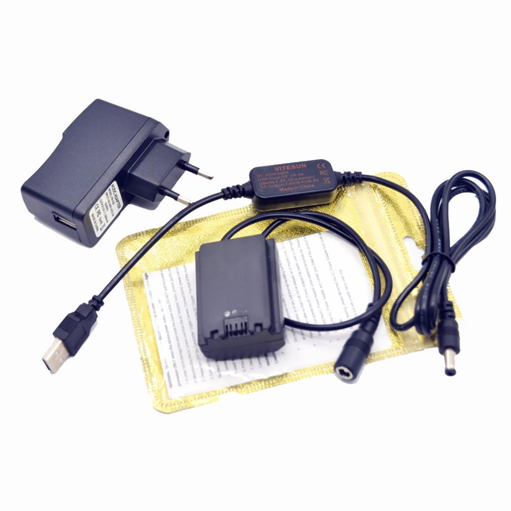 AC-FZ100 cable usb 8V + NP-FZ100 VG-C3EM batería simulada + cargador para cámara Sony Alpha A9 A7RM3 A7RIII a7iii A7M3 ILCE-9