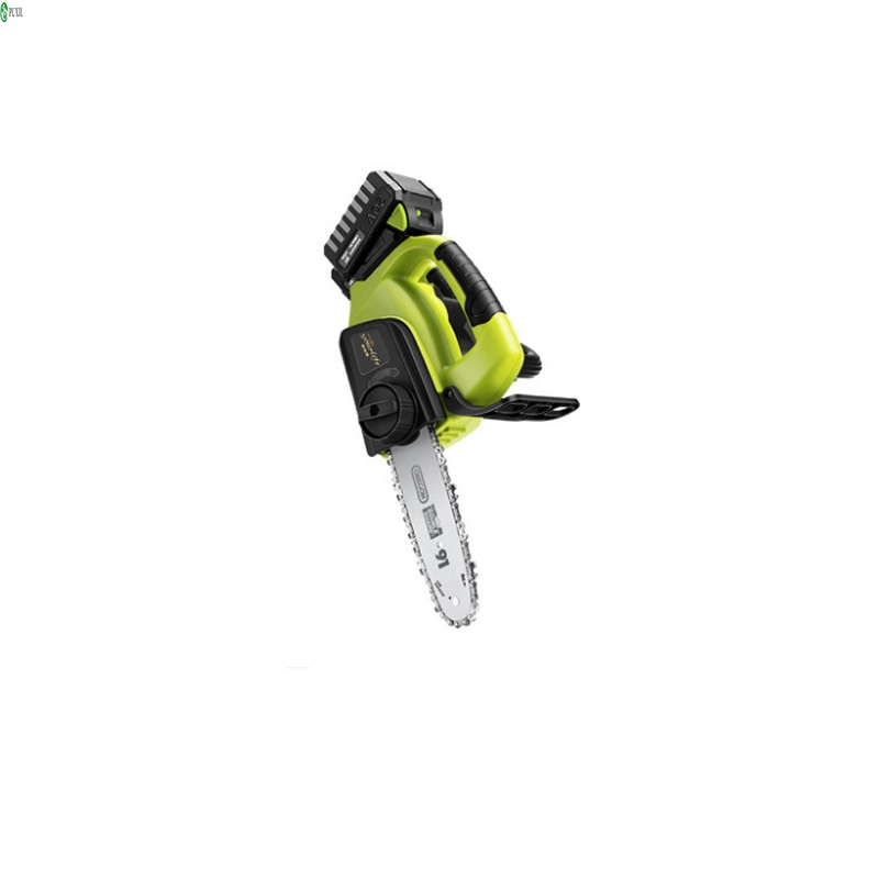Cordless electric chain saw household logging saw chainsaw handheld small tree felling lithium battery outdoor mini portable