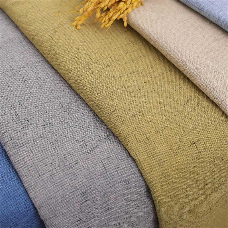 aliexpress.com - Linen Furniture Fabric Upholstery Plain Fabrics Sofa Cover Sewing Material Textile Cloth for Curtain Table