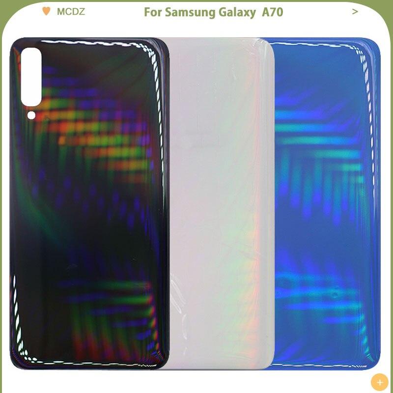 Para Samsung Galaxy A20 A30 A40 A50 A60 A70 cubierta trasera de la batería parte trasera