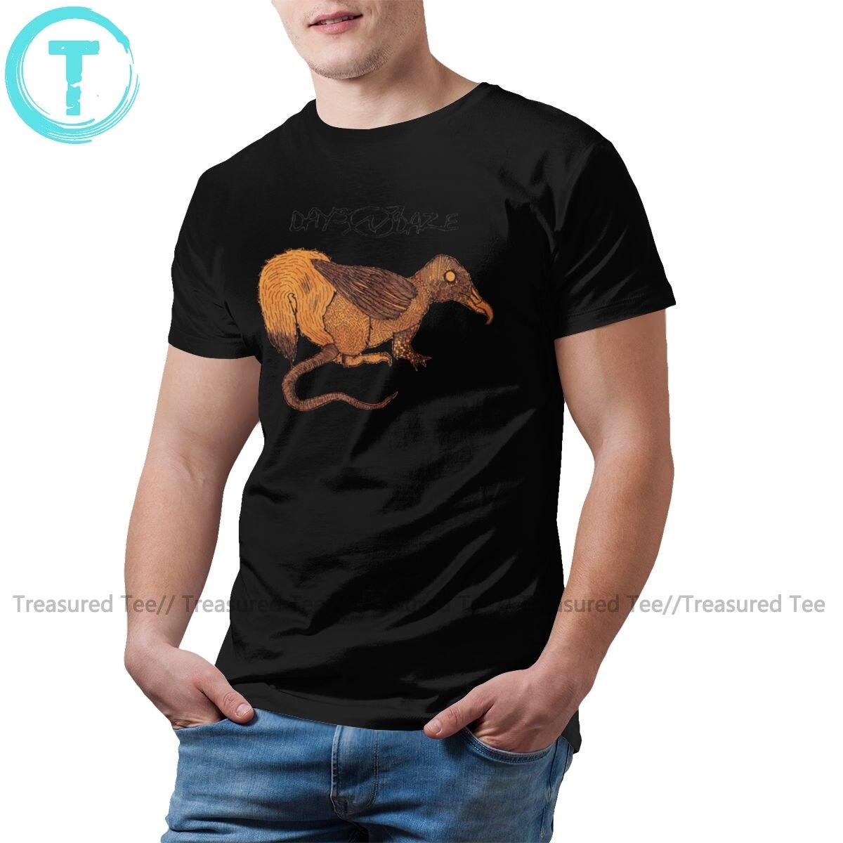 Camiseta de castor días y Daze camiseta estampada divertida camiseta de talla grande verano Camiseta de manga corta para hombre