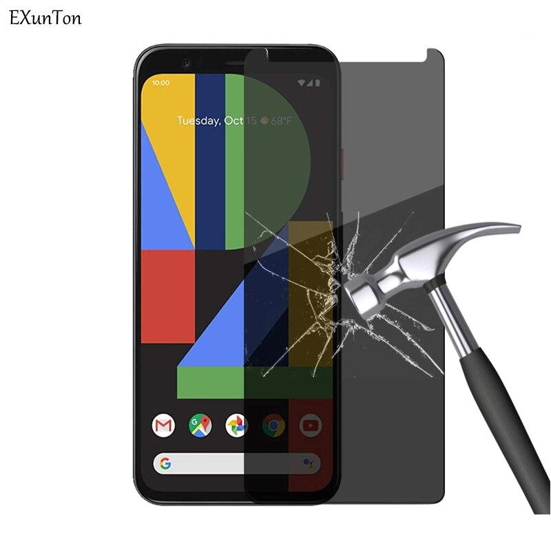 Конфиденциальность закаленное стекло для Google Pixel 4 4XL анти-шпионский экран протектор для Google Pixel XL4 4 4XL Антибликовая защитная пленка
