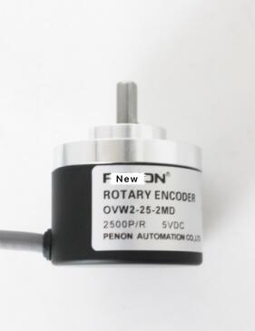 Nuevo original dentro del control del codificador fotoeléctrico incremental pulse OVW2-25-2MD 2500