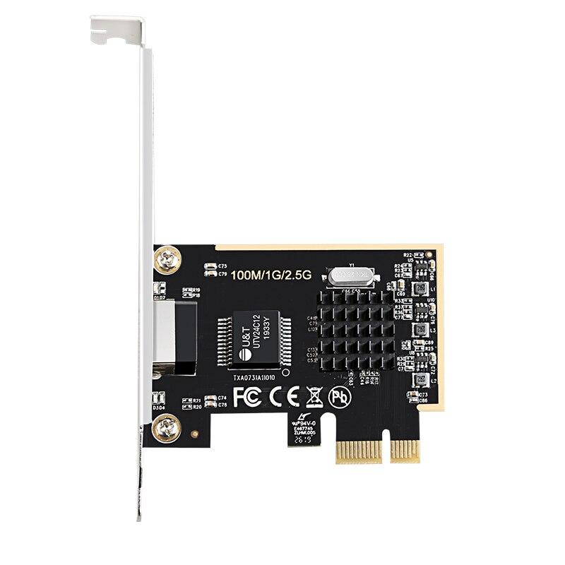 DIEWU 2,5G сетевой адаптер PCIe1X 2,5G lan Карта с Realtek8125 Быстрая доставка