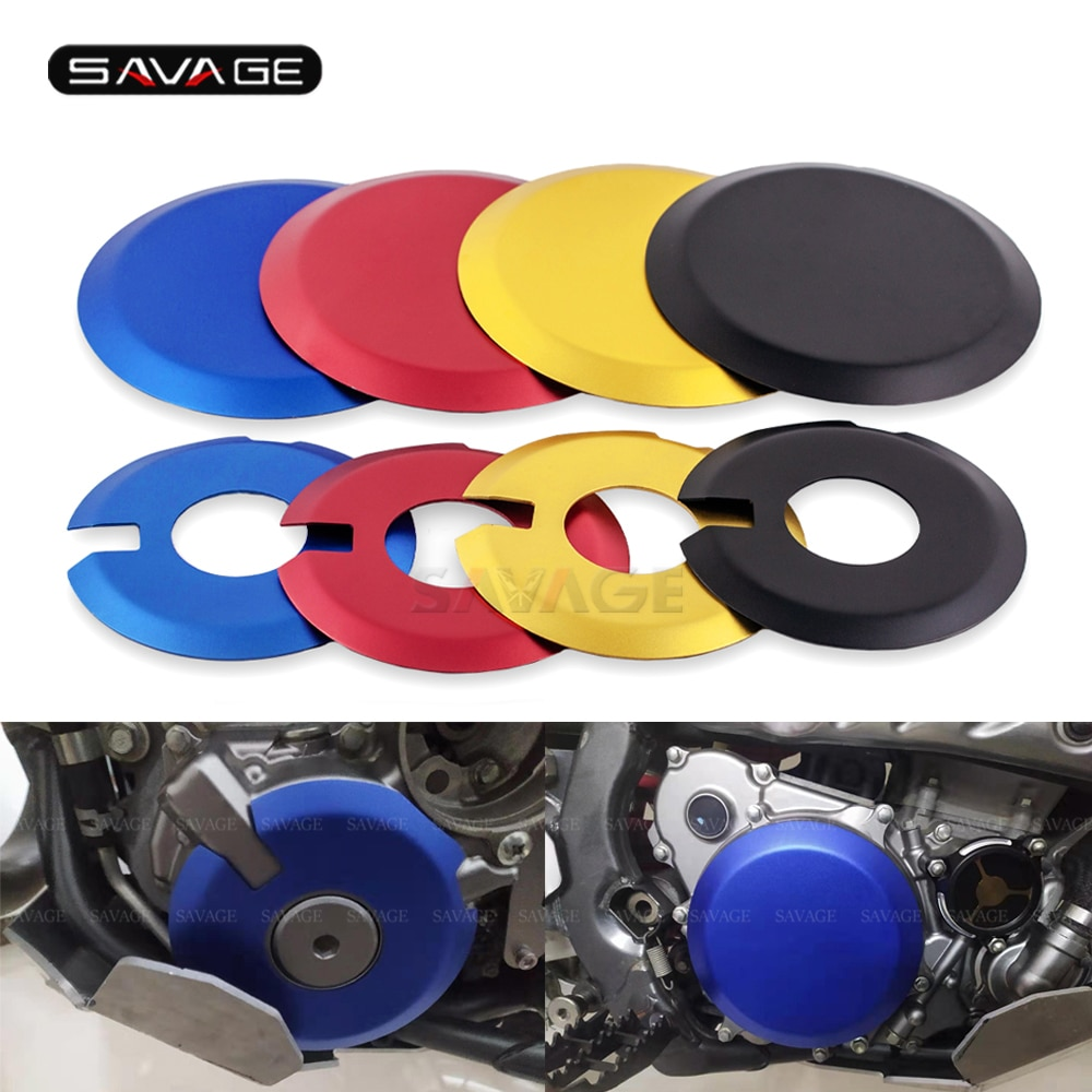 Engine Clutch Case Cover Guard For SUZUKI DRZ 400 E/S/SM DRZ400S DRZ400E 2000-2020 19 18 DRZ400SM 2005-2020 Motorcycle Protector