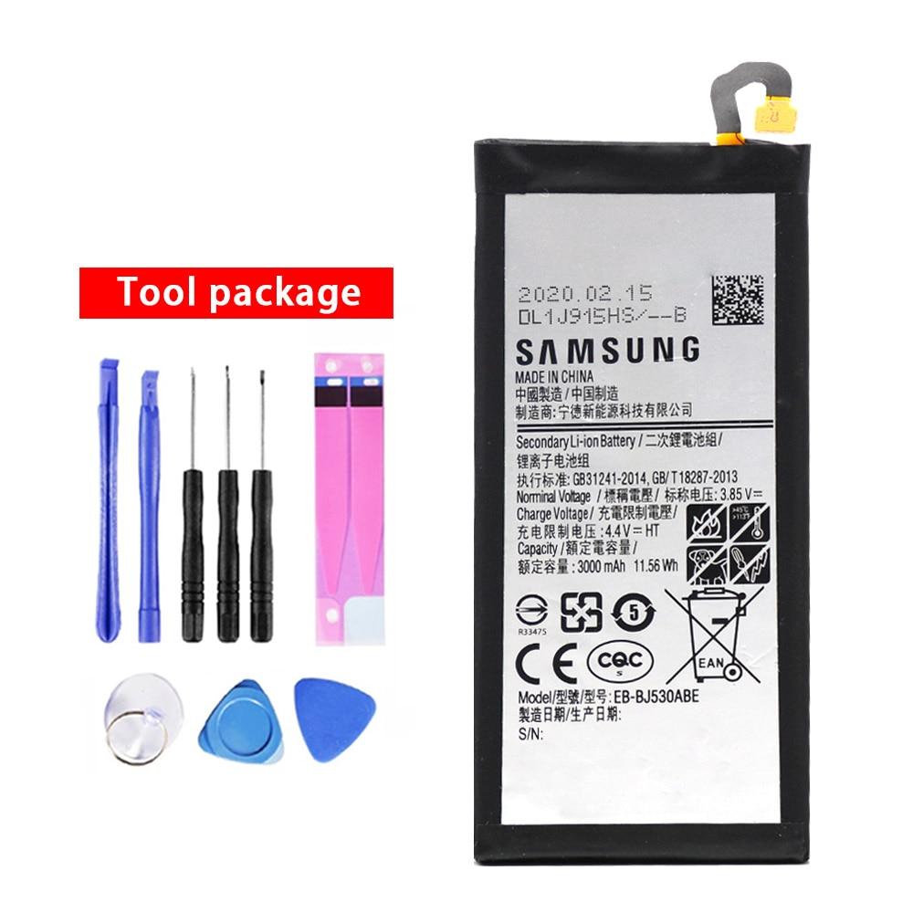 20pcs/lot Battery EB-BJ530ABE For Samsung Galaxy J5 Pro 2017 J530 SM-J530K /J530F /J530Y /J530G NEW Orgina bateria 3000mAh enlarge