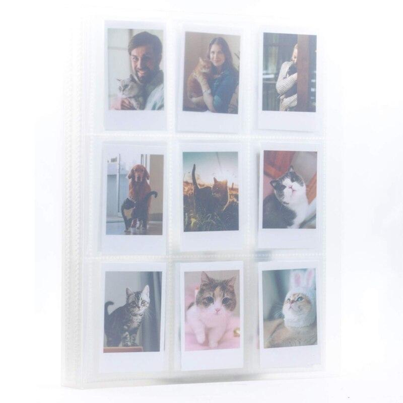288 bolsillos para Fujifilm Instax Mini 7S 8 8 + 9 25 50S 70 90,Polaroid Snap PIC-300, HP Sprocket, Kodak Mini 3-pulgadas Fi