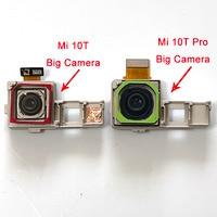 Оригинальная рамка для задней камеры Xiaomi Mi 10T 5G MI10T M2007J3SY, Большая маленькая камера для Xiaomi Mi 10T Pro 5G 10TPro M2007J3SG/P