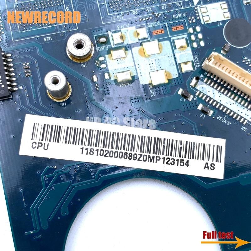 Купить с кэшбэком NEWRECORD 11S102000 KIWA5 LA-5081P Rev 1.0 Laptpo motherboard For lenovo 3000 G450 GL40 DDR3 HD graphics main board full test
