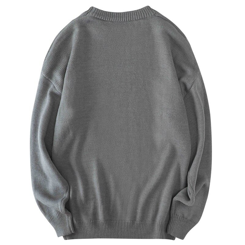 Men Sweaters Autumn Solid Jumpers Pullovers Male Knitwear Man Big Plus Size 8xl 7xl 6xl 5xl Simple Winter Mens Oversized Sweater