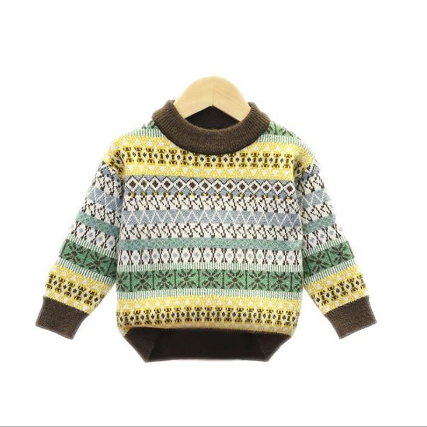 Boys sweaters spring autumn children fashion pullover sweater for baby girls kids casual wool clothing 2020 new toddler tops