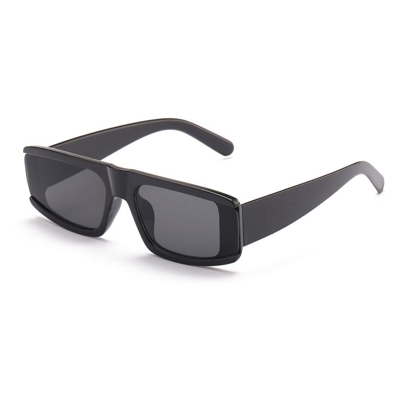 Black Leopard Brown Sunglasses Vintage Small Beige Square Eyeglasses For Women Gradient Eyewear Men Chic Cool Sun Glasses UV400 carrera hot s adult fashion sunglasses eyewear green havana silver brown gradient