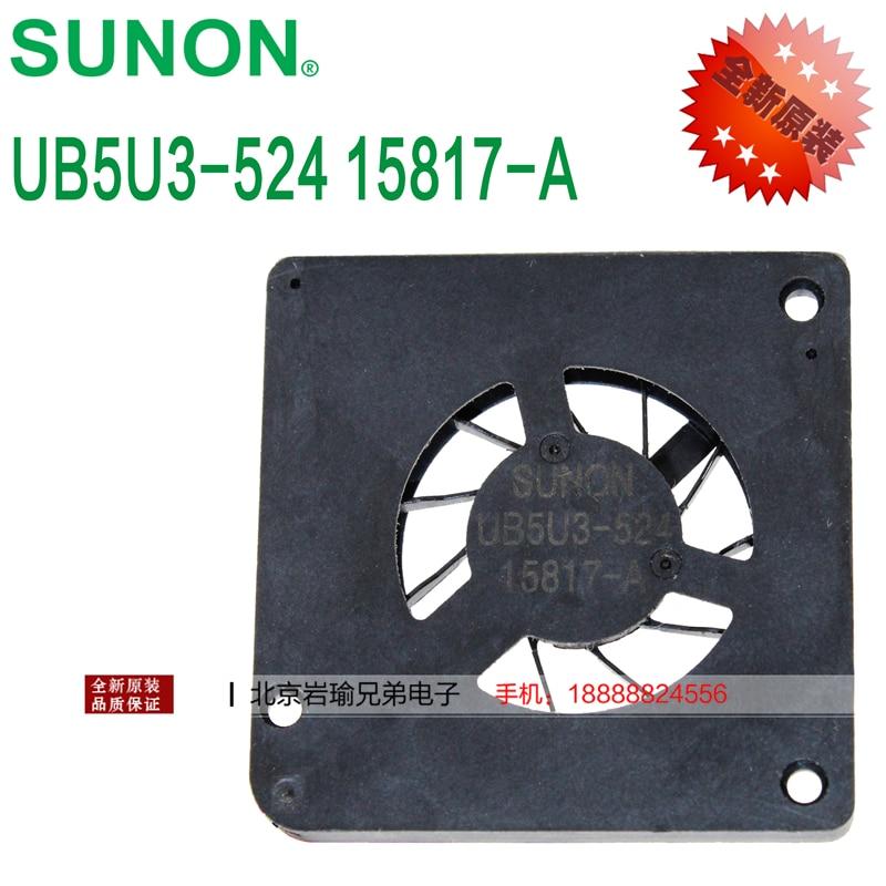 The new SUNONUB5U3-524 UB5U3 micro fan ultra-thin 3003 3mm silent cooling fan