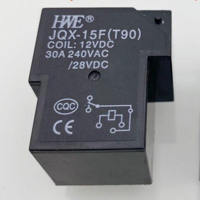 [Em estoque] novo relé original JQX-15F [t90] 12vdc HF165FD-G