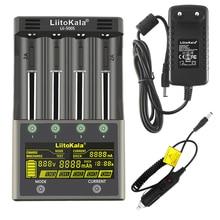 Liitokala Lii-PD4 Lii-PL4 Lii-S2 Lii-S4 Lii-S6 lii-500S 18650 26650 1.2 v 3.7 v 3.2 v lítio-íon aa aaa nimh bateria carregador inteligente