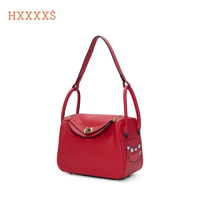 Hxxxxs-حقائب يد نسائية كرتونية ، حقائب فاخرة ذات علامة تجارية ، حقائب كتف ، حقائب يد فاخرة مصممة