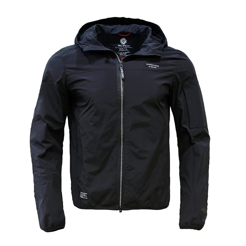 Новинка 2021, демисезонные мужские повседневные куртки TALIFECK, модная верхняя одежда, мужские пальто, Мужская брендовая одежда, мужские однотон...