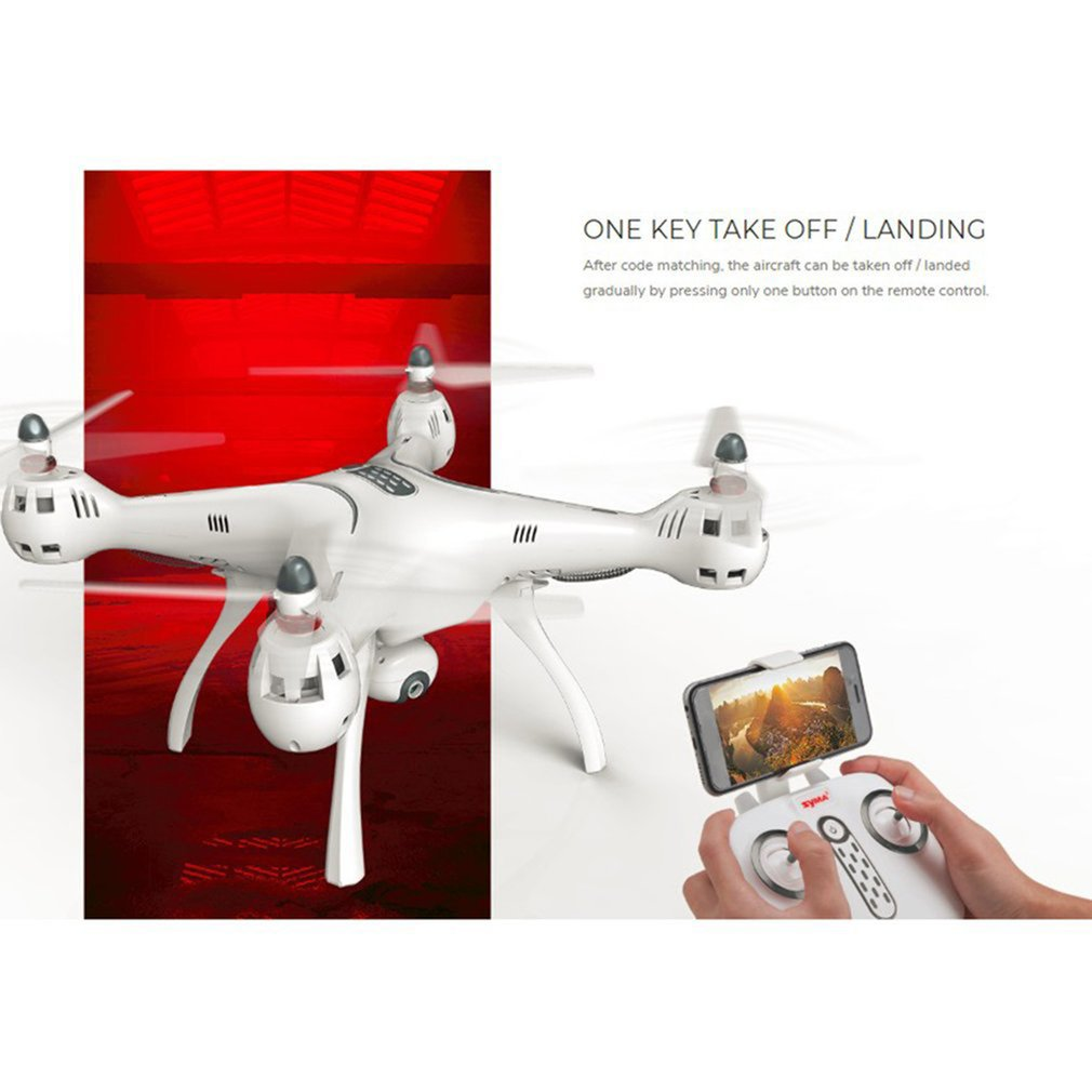 Syma X8PRO 2.4G GPS Positioning FPV RC Drone Quadcopter With 720P HD Wifi Adjustable Camera Real Time Altitude Hold Headless enlarge