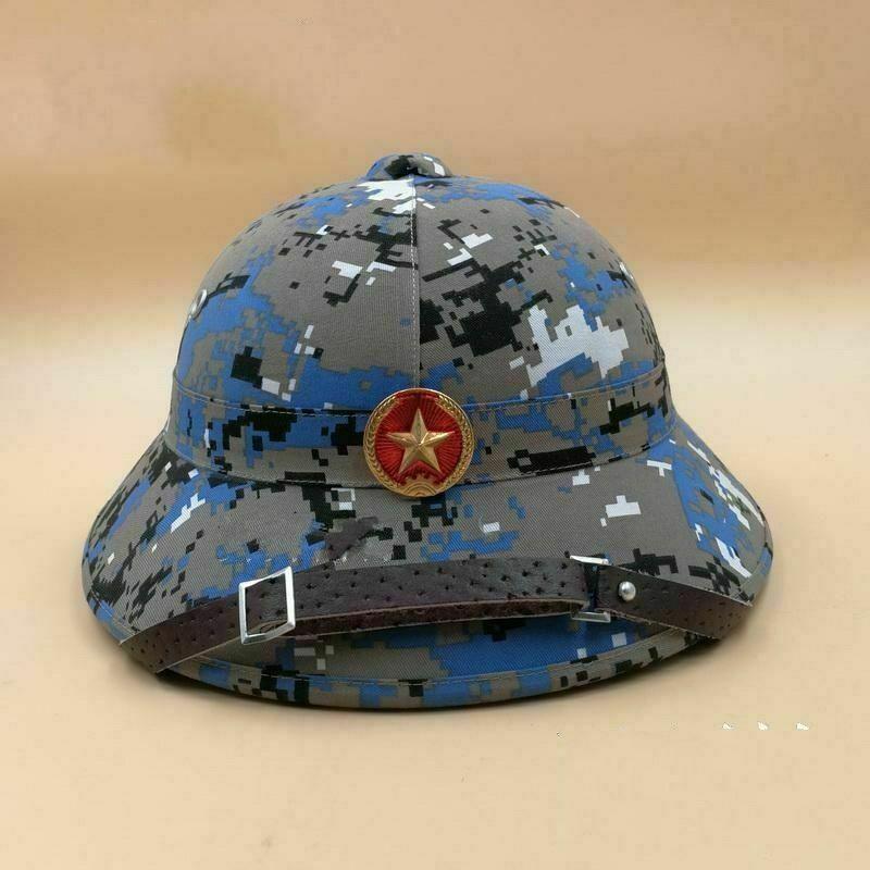 Tomwang2012. Casco del ejército vietnamita con insignia MARPAT, gorra de color explorador, regalo de veterano, recreación de guerra militar