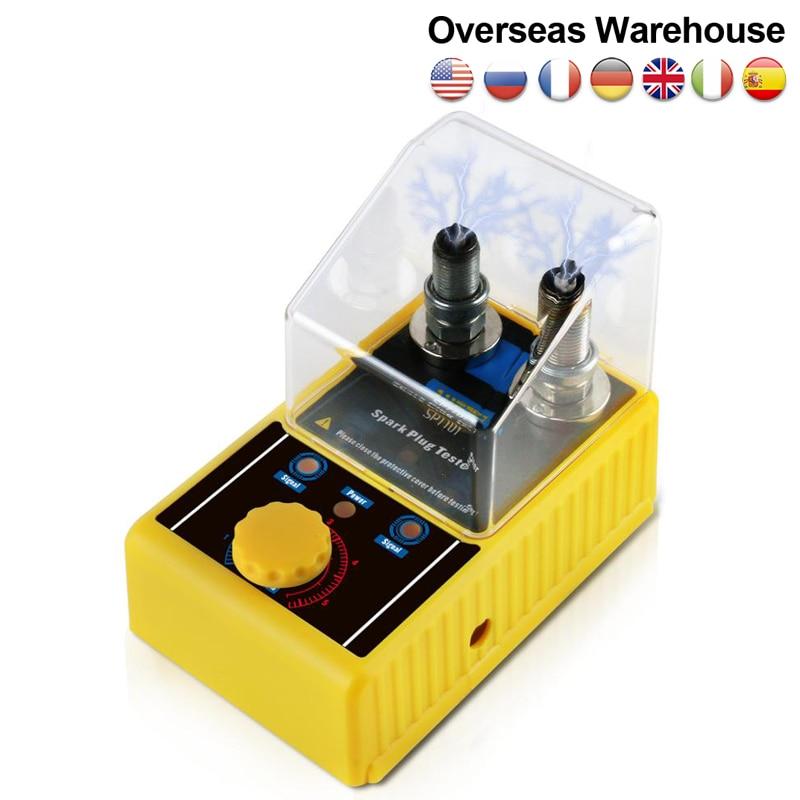 Original AUTOOL SPT101 220V 110V Car Spark Plug Tester Ignition Testers Automotive Diagnostic Tool D