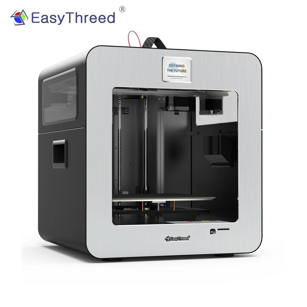 EasyThreed profesional de gama alta FDM 3D impresora de alta precisión Auto nivelación sin montaje de grado Individual Kit de impresión 3D