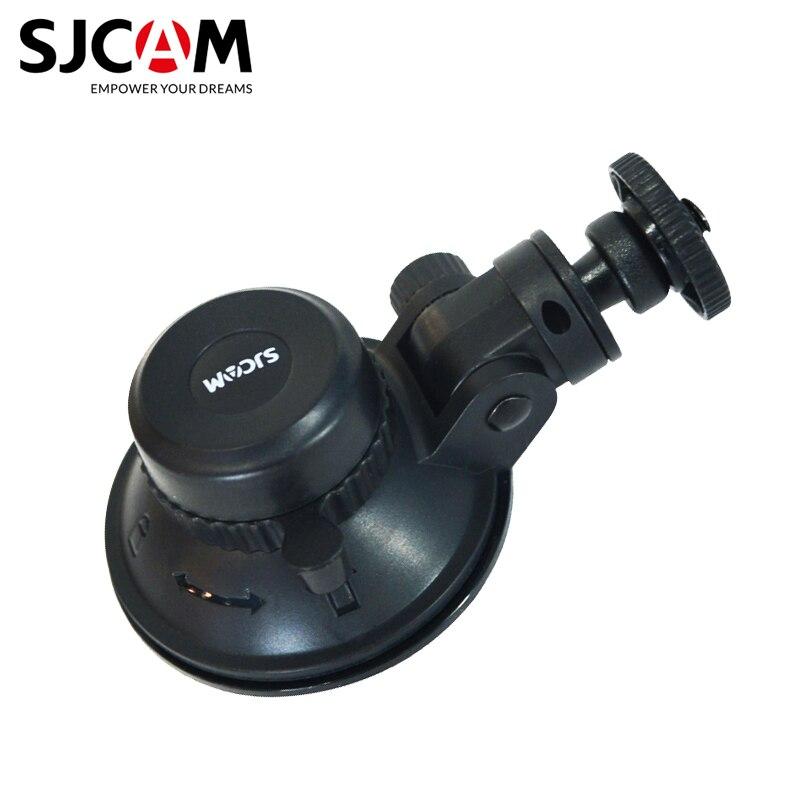 Оригинальные аксессуары SJCAM, автомобильный держатель на присоске, крепление на присоске с вращением на 360 градусов для yi SJ5000 M10 M20 SJ6 SJ7 SJ8 SJ9 4000 Air