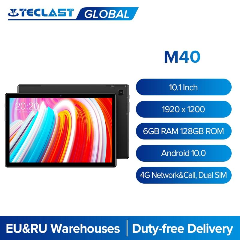 Teclast M40 10.1 Inch Tablet 1920x1200 6GB RAM 128GB ROM 4G Network&Call Dual SIM Octa Core Android
