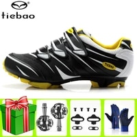 tiebao cycling shoes mtb mountain bike racing spd pedals sneakers men self locking athletic riding bicycle bicicleta carretera