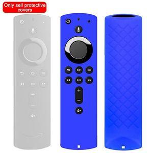 1 шт. защитный чехол 5,9 дюйма силиконовый чехол Противоударная противоскользящая Замена для Amazon Fire TV Stick 4K пульт дистанционного управления