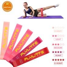 Exercice Mini bandes de résistance force entraînement élastique pour Fitness Sport Yoga Pilates entraînement Fitness gomme tirer vers le haut extenseur