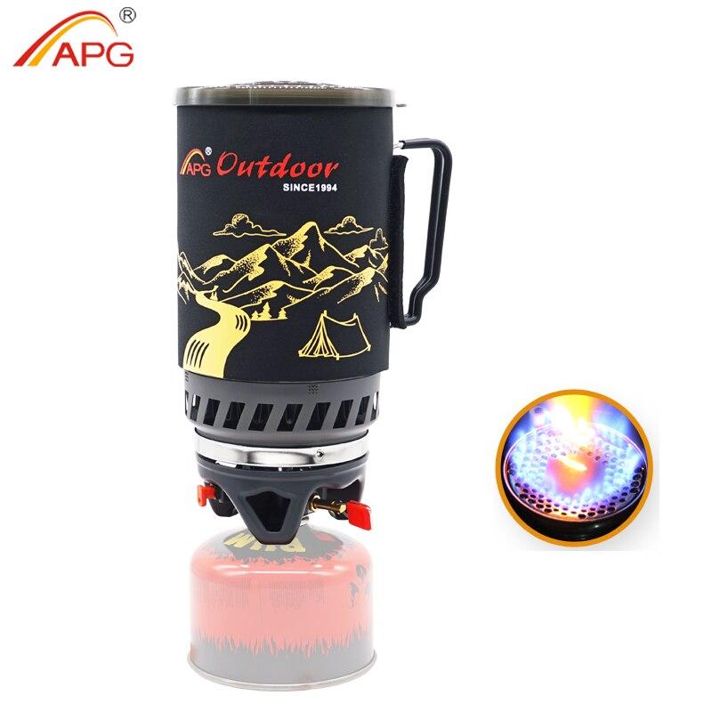 APG 1400 مللي التخييم موقد غاز حرائق نظام الطبخ والمحمولة مواقد تعمل بالغاز
