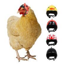 Куриный шлем для маленьких питомцев, жесткая шапка для птиц, уток, перепелиных шляп, головной убор для домашних животных, куриный шлем, головной шлем для птиц, товары для домашних животных, 1 шт.