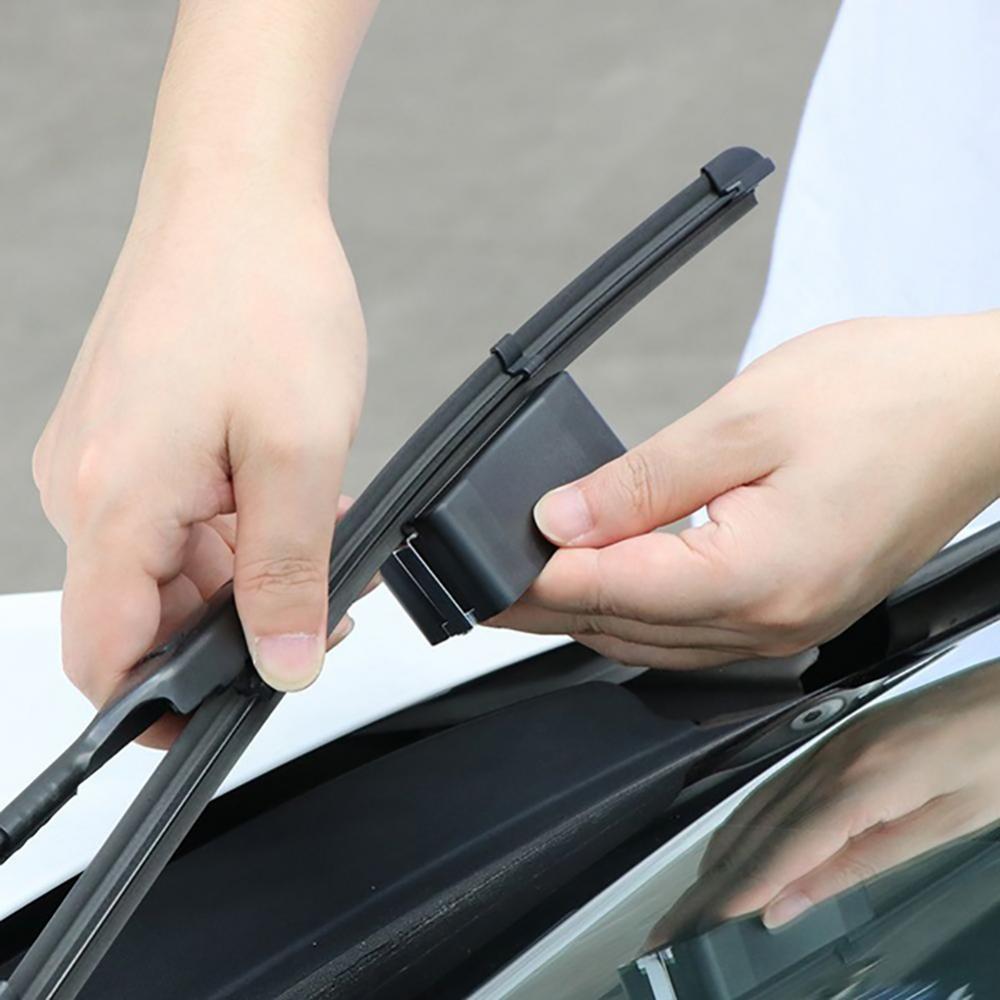 55% Прямая поставка! Универсальный автомобиль клеевая форма руки очиститель с лезвием автомобильные щетки стеклоочистителя лобового стекла...