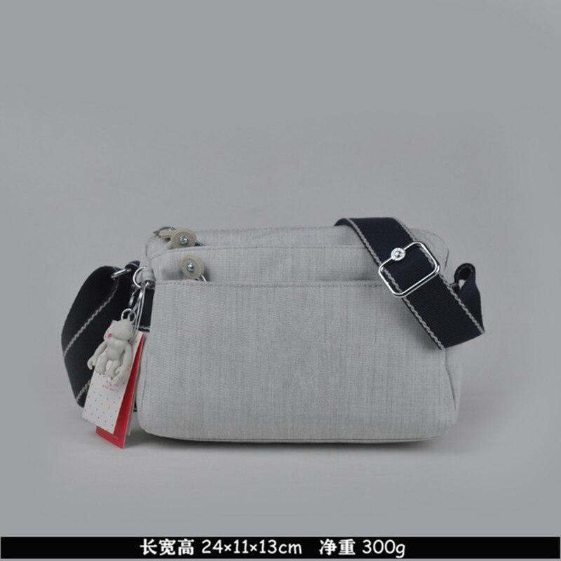 حقيبة يد نسائية من النايلون ، ماركة فاخرة ، حقيبة كتف صغيرة ، حقيبة أصلية