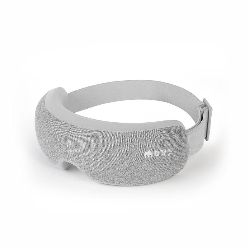 Masajeador de ojos plegable recargable Momoda 5V 5W 3 modos, calentamiento termostático grafeno, máscara de ojos inteligente para amasar
