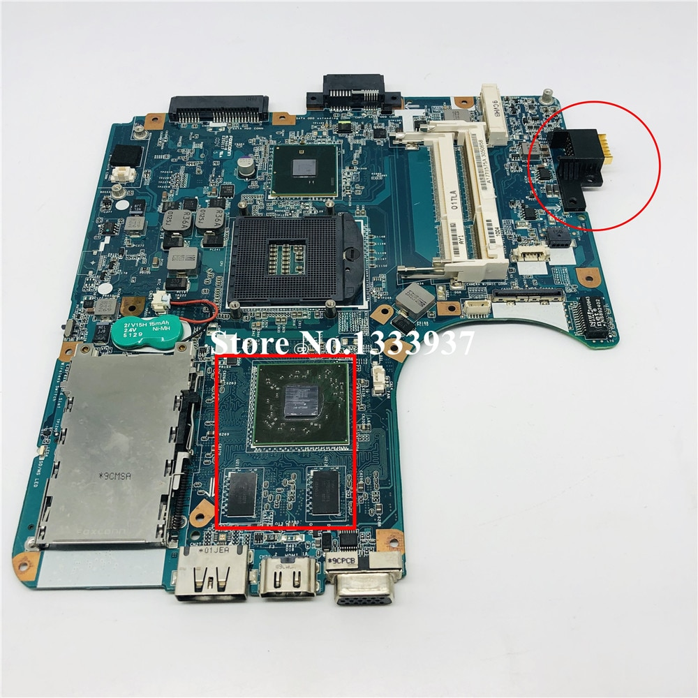 لسوني VPCEB الكمبيوتر المحمول MBX-224 اللوحة الأم A1771575A A1771575B HM55 MBX-224 M960 اللوحة الأم
