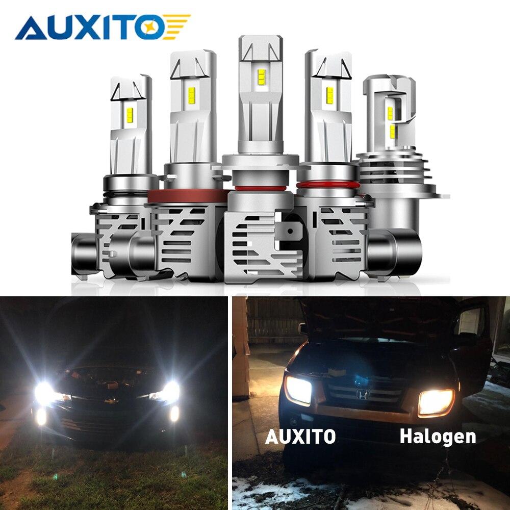 2 pièces Turbo H7 H4 LED ampoule salut Lo faisceau 9003 H13 H11 phare lampe frontale LED LED phares pour voiture VW Passat POLO Golf Jetta Touareg